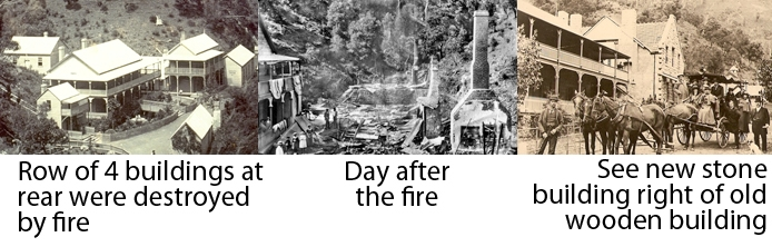 Before and after fire photos