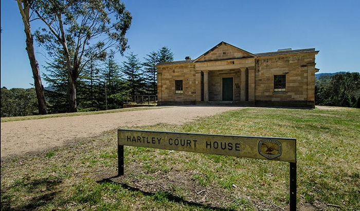 Visit historic Hartley Village on Day 5.