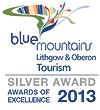 Jenolan Caves win a silver award at regional level, for Heritage & Culture Tourism.
