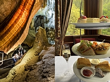 Imperial Cave and High Tea package at Jenolan Caves