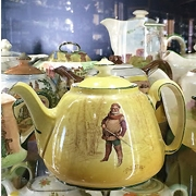 For things to do near Sydney, visit Bygone Beauties huge teapot collection!