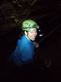 Adventure in the Blue Mountains - adventure caving at Jenolan Caves