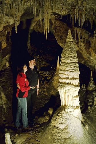 The Minaret, River Cave, Jenolan Caves