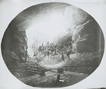 Before Caves House, visitors could camp in the Grand Arch.