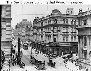 The David Jones Building in Sydney