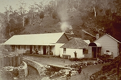 Jenolan's first accommodation buildings